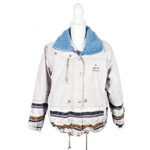 Vintage Sun Ice Puffer Jacket